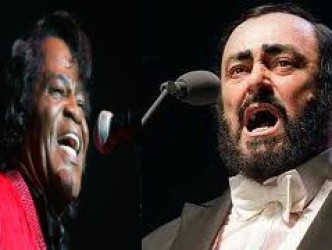 Luciano Pavarotti & James Brown – It's a man's world