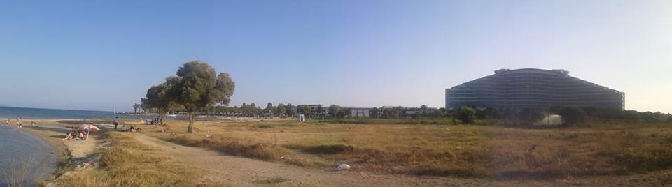 İbrahim DURMUŞ 131 / 62 Ve Venosa Otel plajından bizim sahillerin (Bozbük) görünüşü.