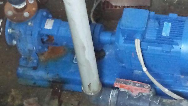 Su deposu  hidrefor motorunun yenisiyle değişimi.