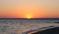 Lalekent Sahilinde Gün Batımı