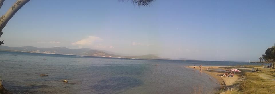 İbrahim DURMUŞ 131 / 62  Venosa Otel Plajından bizim sahillerin (Bozbük) görünüşü.